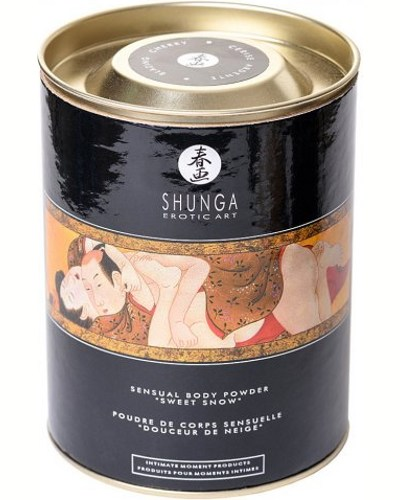 «Shunga Sweet Snow Sensual Body Powder» - пудра для тела — фото