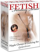 Nipple Clamps & Cockring Set