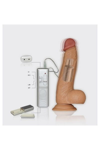Real Extreme Extra Girth Vibrating Dildo
